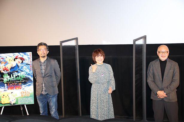 【写真を見る】東京国際映画祭のステージに登場!『ミュウツーの逆襲』秘話を明かした