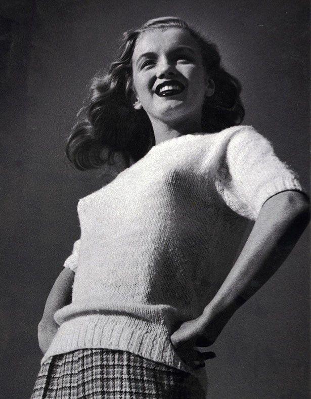 20歳当時、初めて仕事で写真撮影を行った際のマリリン
