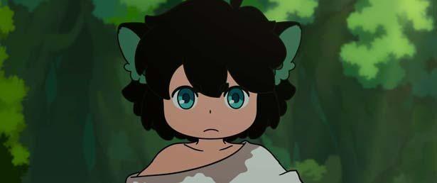 【写真を見る】黒ネコの妖精シャオヘイが大冒険を繰り広げる(『羅小黒戦記(ロシャオヘイセンキ)ぼくが選ぶ未来』