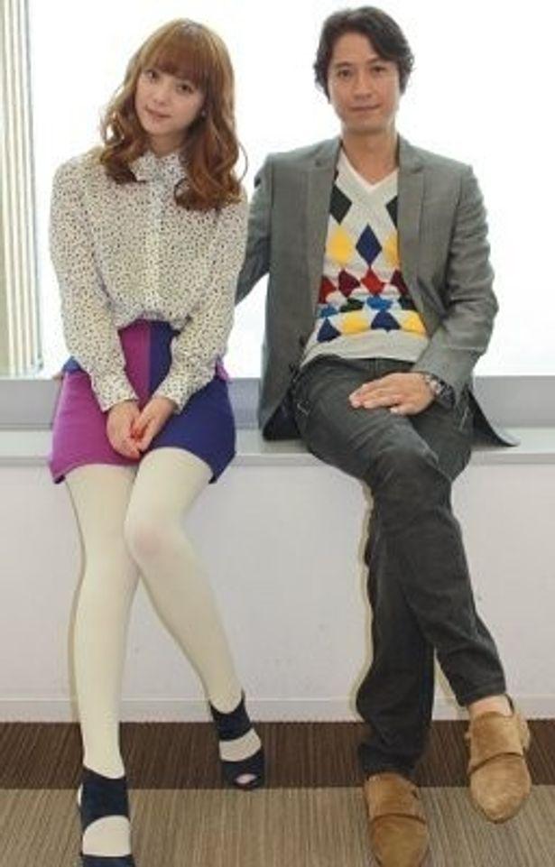 佐々木希と谷原章介が息の合った演技を見せる『天使の恋』
