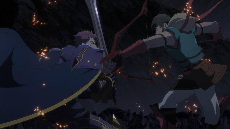 円卓の騎士ランスロットと古代ペルシャの英雄アーラシュ。出会うはずのない歴史上の英雄たちが、各々に使命を背負い対峙することでドラマが生まれる