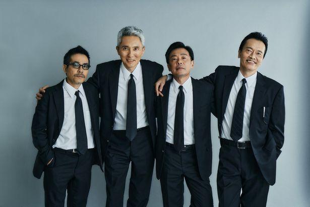 田口トモロヲ、松重豊、光石研、遠藤憲一による「バイプレイヤーズ」の新作ドラマ放送と映画公開が決定