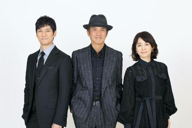 佐藤浩市と石田ゆり子、西島秀俊が、話題作の舞台裏を語り合った
