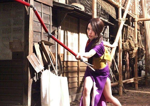 戸田恵梨香演じる女剣士の乙橘槇絵