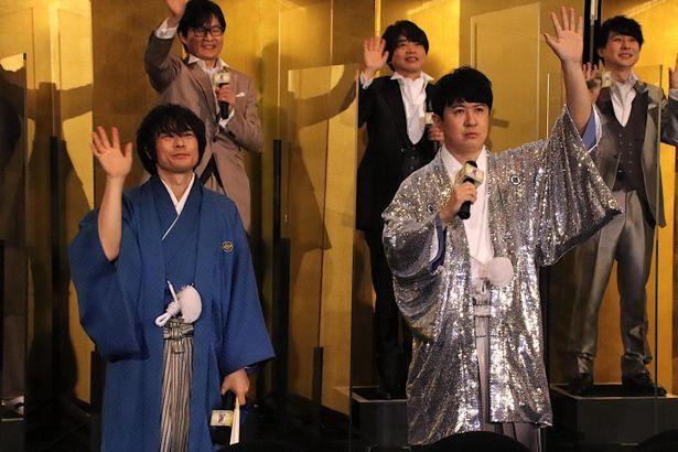 【写真を見る】杉田智和、輝く晴れ着姿!