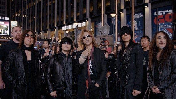 念願の英ウェンブリー・アリーナ公演が控えたX JAPAN