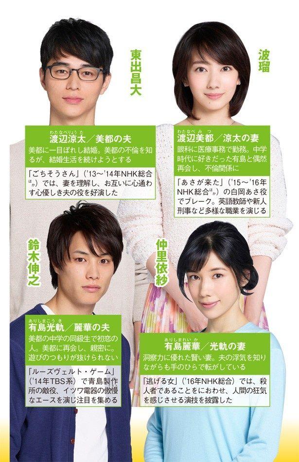いくえみ綾の同名コミックを 波瑠主演でドラマ化!
