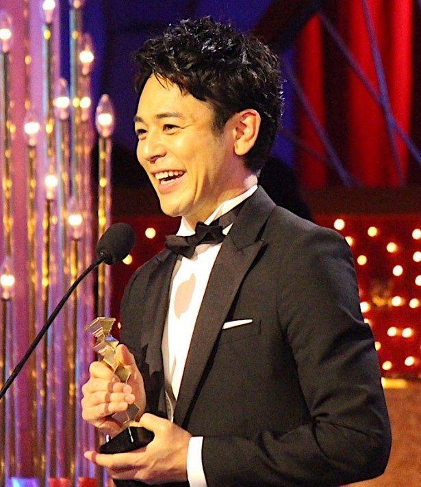 最優秀助演男優賞に輝いた『怒り』の妻夫木聡