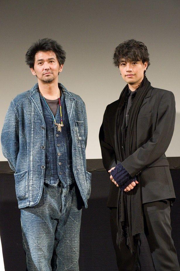 『blank13』ワールド・プレミア上映後に登壇した斎藤工と村上淳