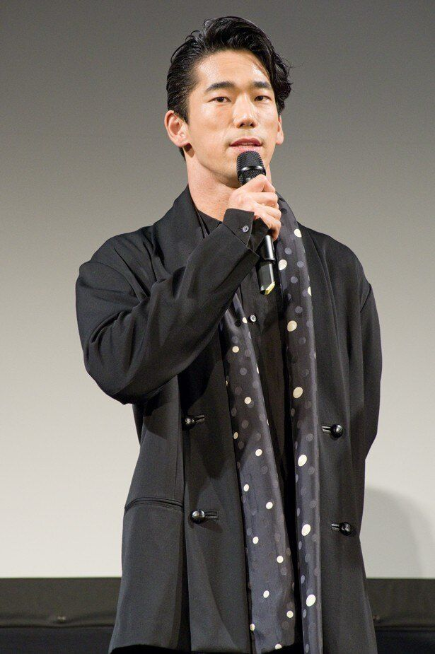 ゆうばり国際ファンタスティック映画祭で『たたら侍』上映前に登壇した小林直己