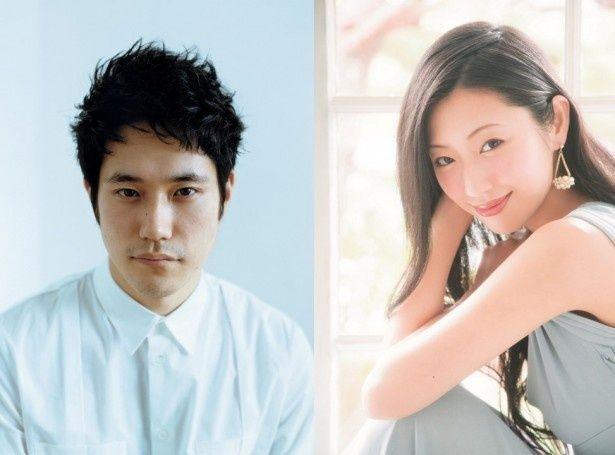 「関ヶ原」の第3弾キャストとして発表された松山ケンイチ、壇蜜(左から)
