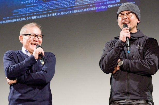 韓国で高い評価を得ている『哭声/コクソン』上映後にも、ナ・ホンジン監督と共に登壇