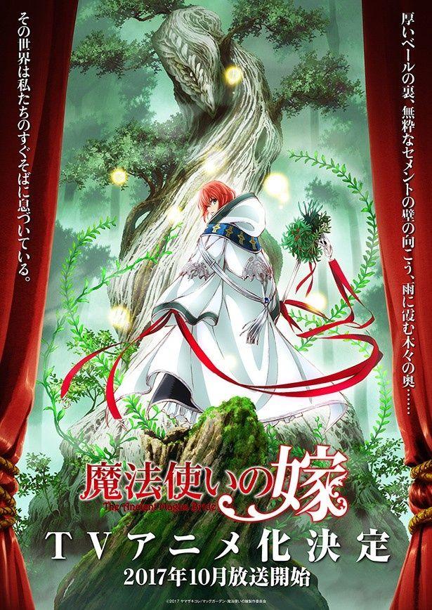 10月からの放送が決定したテレビアニメ「魔法使いの嫁」の第1弾ビジュアル