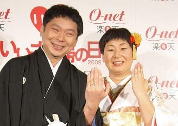 """結婚当初は72kgだった体重が、現在94kgあるという鈴木さん。「体重だけでなく、夫婦愛も大きくなっている」と鈴木さん。毎日、何十回も""""愛してる""""を伝えているとか"""