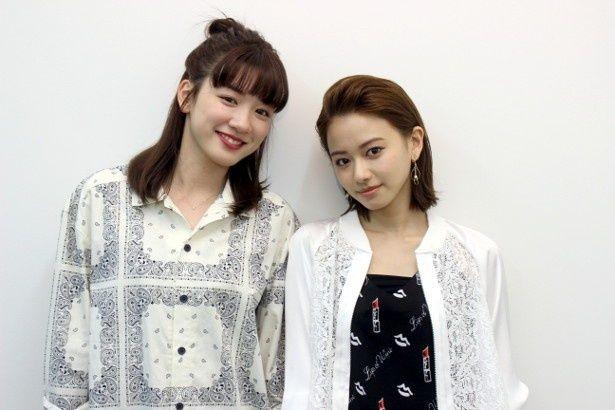 『ひるなかの流星』の永野芽郁と山本舞香