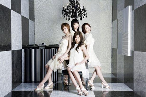 美しい女性4人組の天上智喜は、韓国では大人気だ!