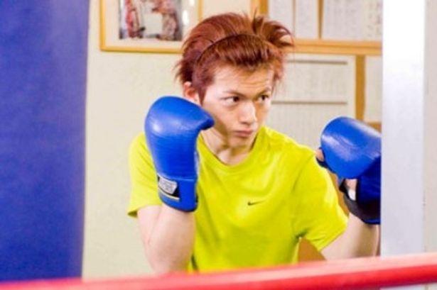 ボクシングに情熱を注ぐ健太郎に扮するのは古原靖久