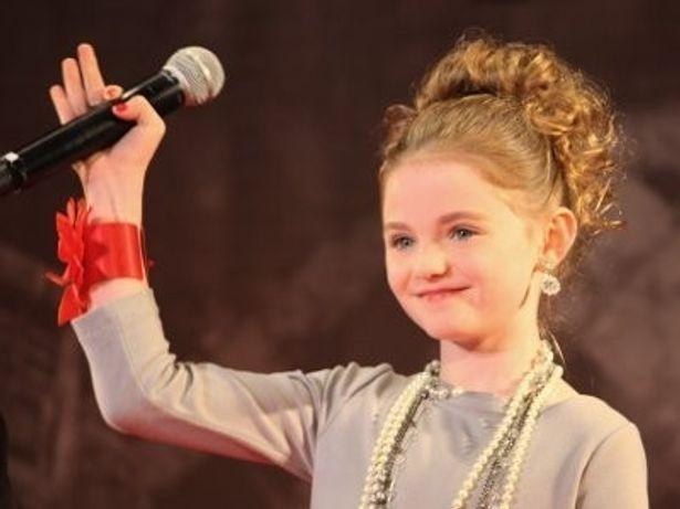 「かわいい〜!」と黄色い歓声を浴びていた美少女子役モーガン・リリー