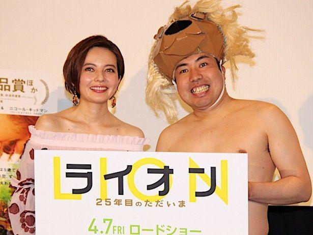 『LION/ライオン ~25年目のただいま~』の公開直前イベントが開催された