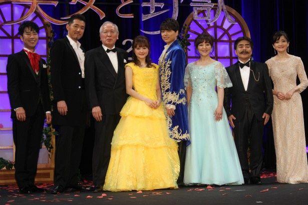 『美女と野獣』の豪華日本語吹替版キャストが揃い踏み