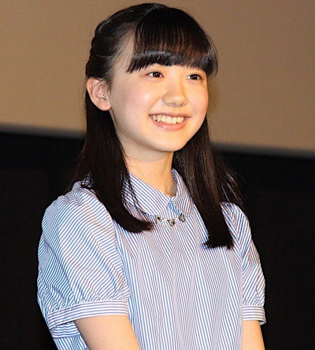 芦田愛菜、会場からの「おめでとう!」に笑顔!
