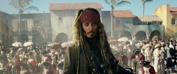 「パイレーツ・オブ・カリビアン/最後の海賊」新メインカット
