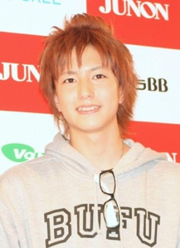 「第22回ジュノン・スーパーボーイ・コンテスト」のグランプリに輝いた稲葉友くん