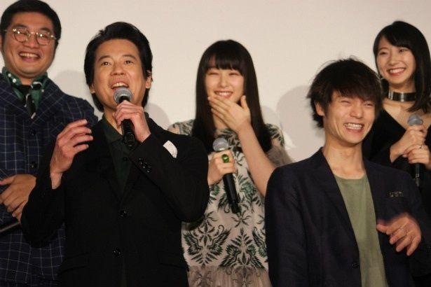 唐沢寿明や窪田正孝らが『ラストコップ THE MOVIE』の初日舞台挨拶に登壇