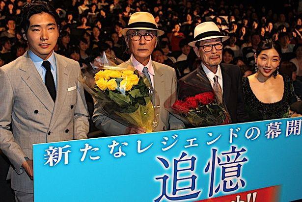 『追憶』の降旗康男監督は82歳!キャスト陣も最敬礼