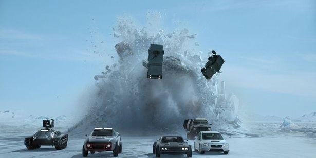 ヒットを続け4位にランクインした『ワイルド・スピード ICE BREAK』