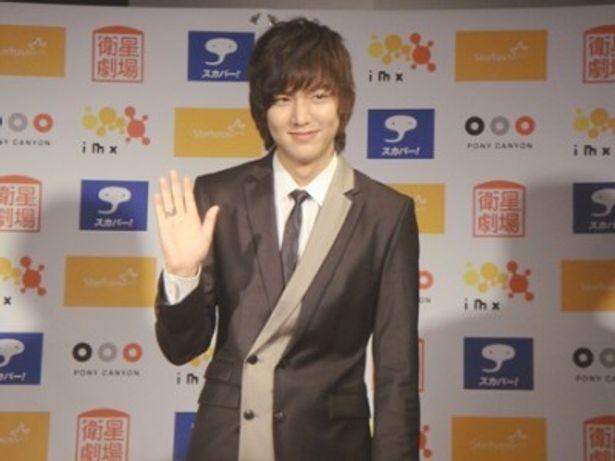 韓国版「花より男子」で才色兼備のク・ジョンピョ(道明寺司)を演じ、人気を博したイ・ミンホ