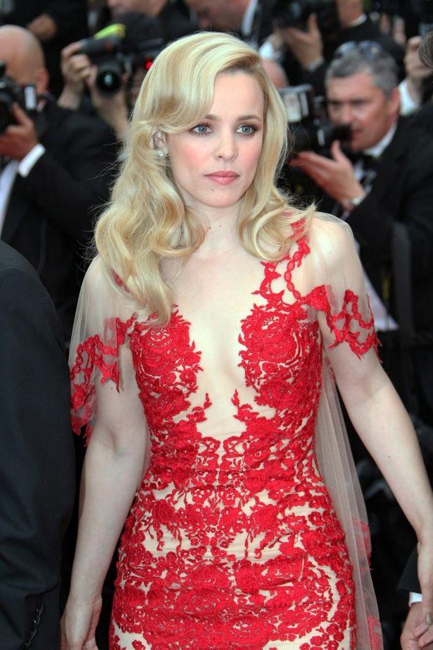 レイチェル・マクアダムスのマルケッサのドレス