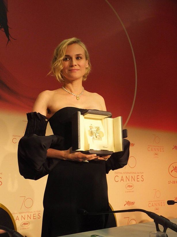 カンヌ映画祭2017で女優賞に輝いたダイアン・クルーガー