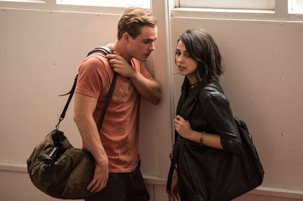初来日を果たすジェイソン役のモンゴメリーと、キンバリー役のスコット