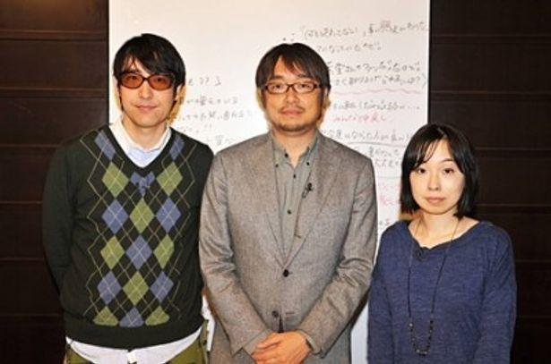 """小山薫堂氏(写真中央)は初冠番組を""""自虐的""""にPRした"""