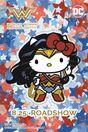 日本を代表する世界的人気キャラクター、ハローキティとスーパーヒーローがまさかのコラボ