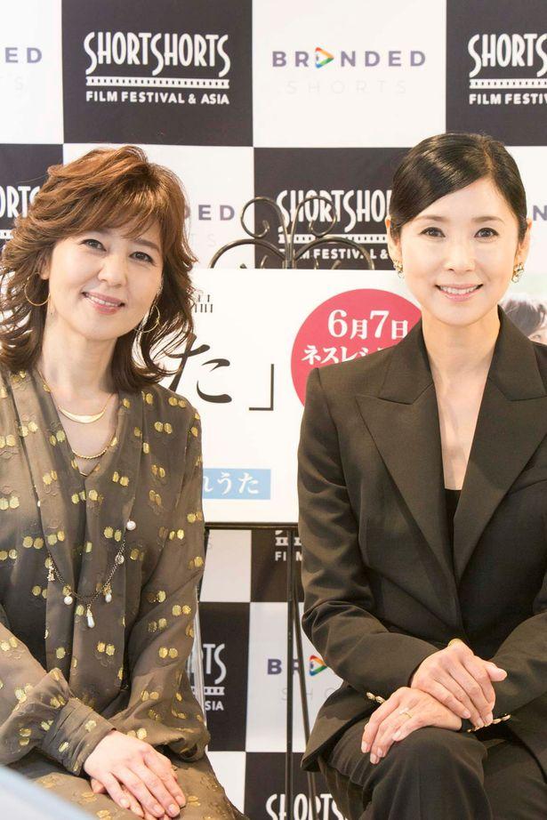 ショートフィルム『わかれうた』の黒木瞳監督と石野真子