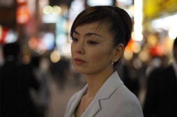 ユリカの母親に扮する松田美由紀