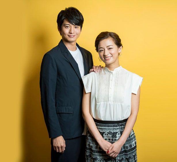映画のキャンペーンで福岡を訪れた向井理と尾野真千子