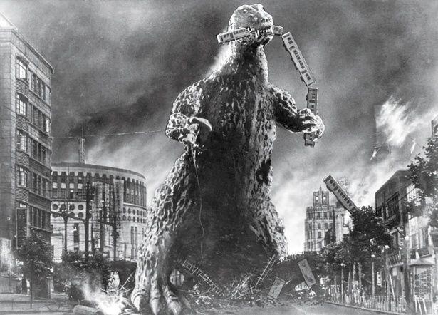 映画「ゴジラ」(1954年)のスチール写真