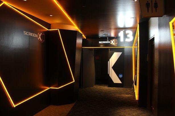 ScreenXが体験できるのはユナイテッド・シネマ アクアシティお台場のここ13スクリーンだけ