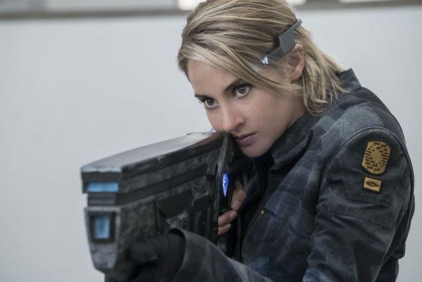 シャイリーン・ウッドリーが、シリーズを通して演じるヒロイン・トリス