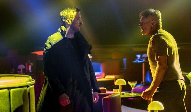 本日解禁された『ブレードランナー 2049』ハリソン、ゴズリング共演の場面写真