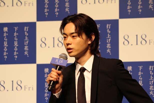 【写真を見る】菅田は声優初挑戦にしてストーリーテラーでもある典道役を好演