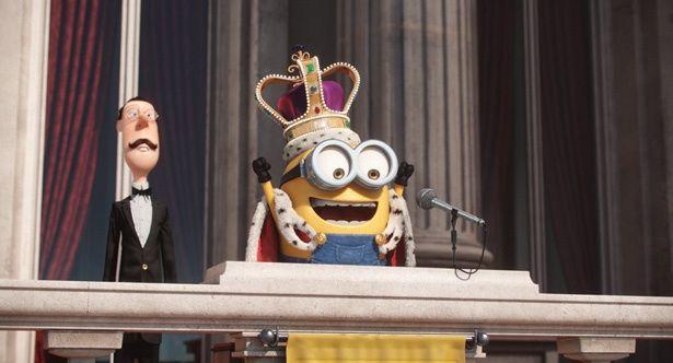 『ミニオンズ』ではミニオンがイギリスの国王に!