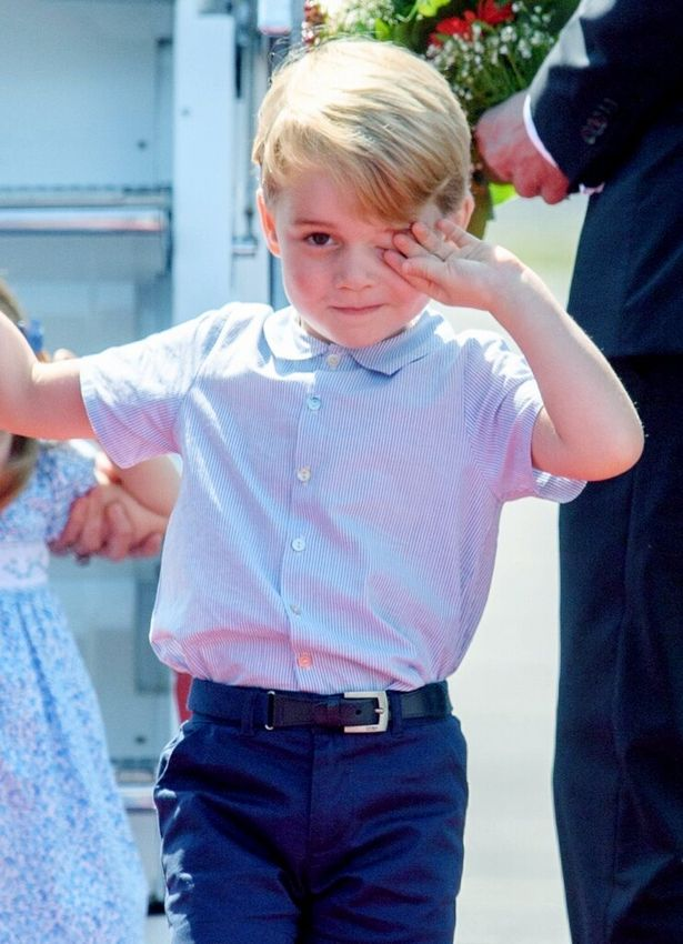 ジョージ王子、もう4歳!
