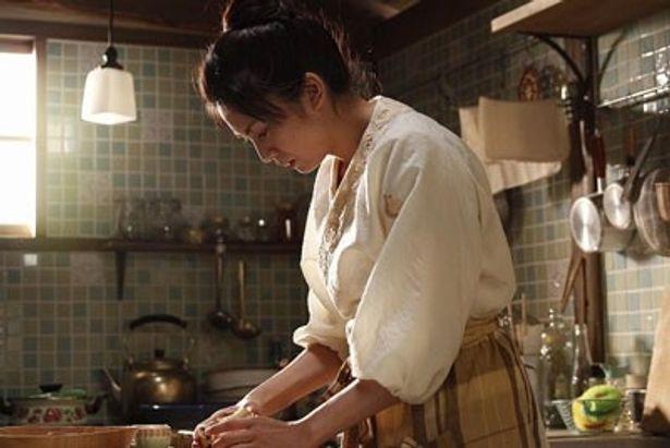 柴咲による絶品料理の数々をチェック!