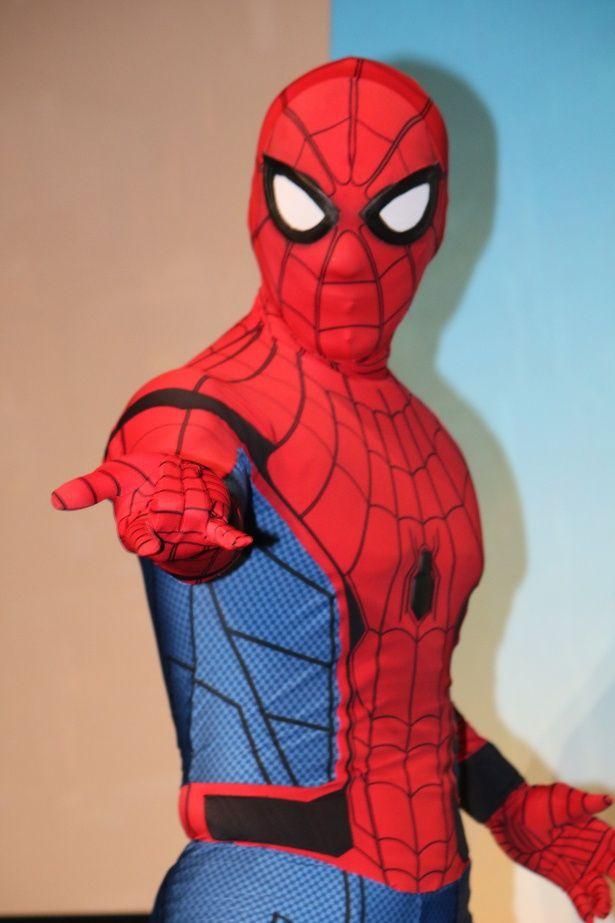 『スパイダーマン:ホームカミング』の初日舞台挨拶が開催