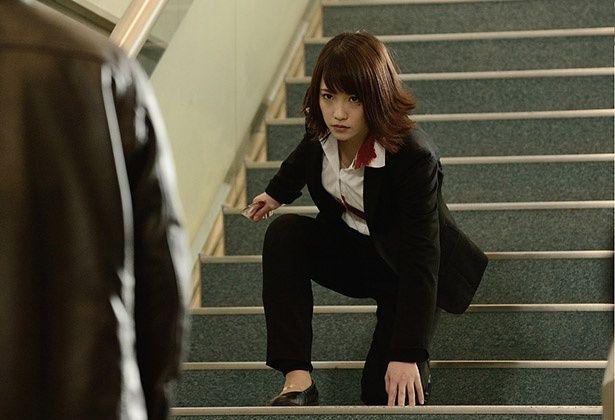 実写映画『亜人』のスピンオフ動画で、川栄李奈が主演する