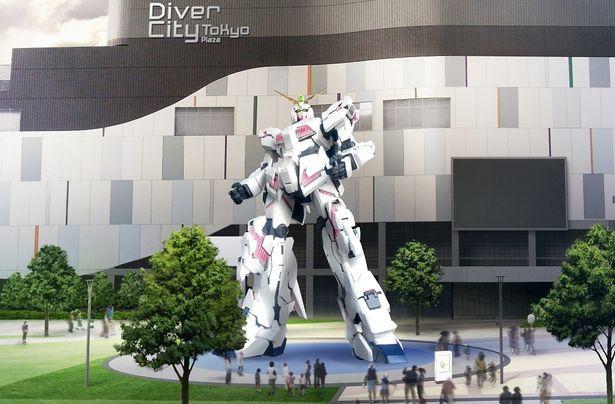 実物大ユニコーンガンダム立像(イメージ)